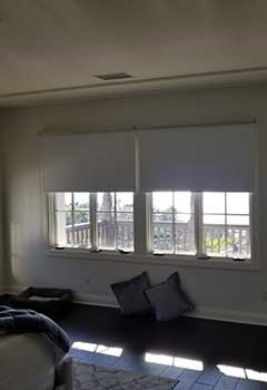 Motorized Roller Shades For Oakland Home